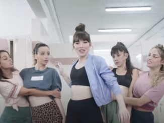 אליאנה תדהר בפרסומת לדלתא